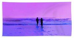 Romance On The Beach Bath Towel