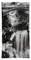 Romantic Moments At The Falls Hand Towel