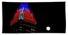 Bath Towel featuring the photograph Romare Bearden Park In Charlotte 2 by Serge Skiba