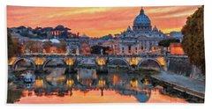Rome And The Vatican City - 01  Bath Towel