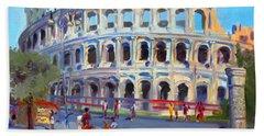 Rome Colosseum Bath Towel