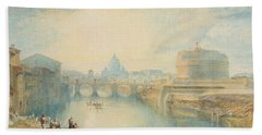 Rome Hand Towel by Joseph Mallord William Turner