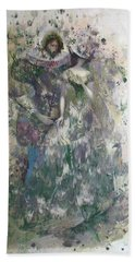 Romeo And Juliet. Monotype Bath Towel