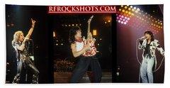 Ronnie James Dio, Eddie Van Halen And Steve Perry Bath Towel
