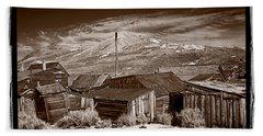 Rooflines Bodie Ghost Town Hand Towel