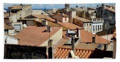 Roofs Of Arles Hand Towel