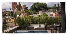 Rooftops Of San Miguel Mexico Bath Towel