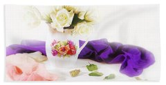 Room For Roses Bath Towel