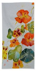 Bath Towel featuring the painting Room To Move by Beverley Harper Tinsley