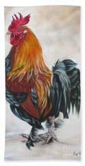 Rooster 19 Of 10 Hand Towel
