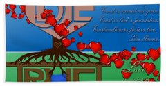 Rooted In Trust Hand Towel