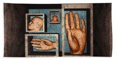 Bath Towel featuring the digital art Roots Of Creativity by John Alexander