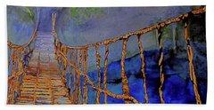 Rope Bridge Bath Towel