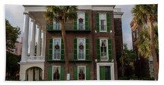 Roper Mansion In December Bath Towel