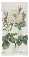 Rosa Alba Foliacea Bath Towel