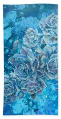Rosa Stellarum Hand Towel