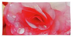 Rose After The Rain Hand Towel