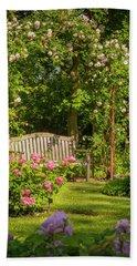Rose Arbor Hand Towel