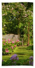 Rose Arbor Bath Towel