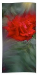 Hand Towel featuring the photograph Rose Aug 2016 by Richard Cummings