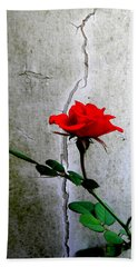 Rose Hand Towel