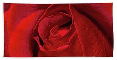 Rose Bud Hand Towel