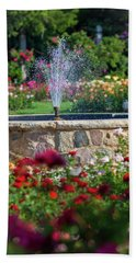 Rose Fountain Bath Towel