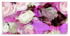 Rose Garden Promise- Art By Linda Woods Hand Towel