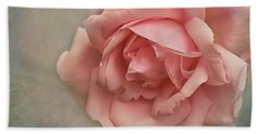 Rose New Dawn Hand Towel by Jacqi Elmslie