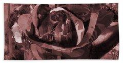 Rose No 2 Bath Towel by David Bridburg