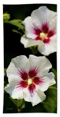 Bath Towel featuring the photograph Rose Of Sharon by Christina Rollo