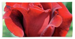 Rose Of The Heart Hand Towel