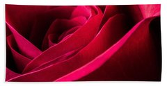 Rose Of Velvet Hand Towel