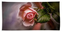 Rose On Paint #g5 Hand Towel