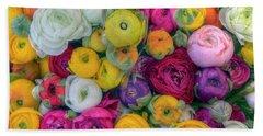 Rose Petals Bath Towel