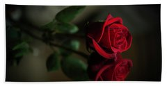 Rose Reflected Hand Towel