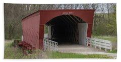 Roseman Covered Bridge - Madison County - Iowa Bath Towel