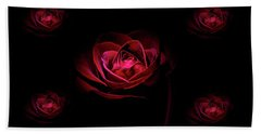 Roses And More  Hand Towel by Doug Long