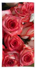 Roses For God Hand Towel