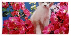 Roses Galore Bath Towel