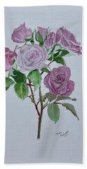 Roses Hand Towel