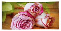 Roses Three Bath Towel