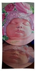 Rosey Little Babe Hand Towel by Ruanna Sion Shadd a'Dann'l Yoder