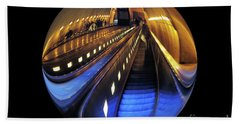 Bath Towel featuring the photograph Rosslyn Metro Station by John S