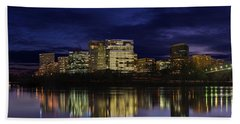 Rosslyn Skyline Hand Towel