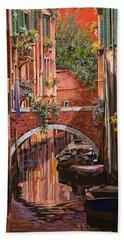 Rosso Veneziano Bath Towel