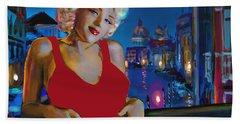 Rot In Venedig / Red In Venice Bath Towel