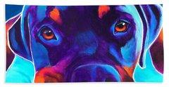 Rottweiler - Dexter Hand Towel