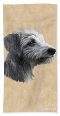 Rough Coated Lurcher  Hand Towel