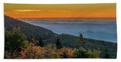 Rough Morning - Blue Ridge Parkway Sunrise Bath Towel